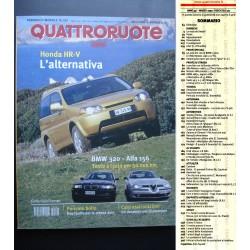 Quattroruote 521 03/1999 Ferrari 360 Modena. Prova BMW 320 e Alfa 156
