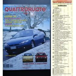 Quattroruote 519 01/1999 FORD COUGAR, SKODA OCTAVIA, VOLVO V40
