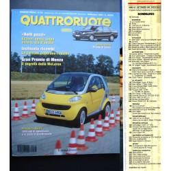 Quattroruote 515 09/1998 Lancio nuova Dedra.GP Monza:segreti McLaren.Provata Smart
