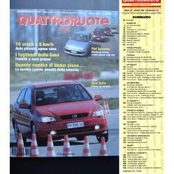 Quattroruote 510 04/1998 Prove Opel Astra. Land Rover Freelander 2.0 TD.