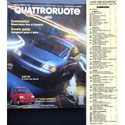 Quattroruote 509 03/1998 BMW Serie 3, Audi A6, Lancia K coupè, Mercedes Clk