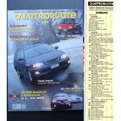 Quattroruote 508 02/1998 FERRARI FF PORSCHE CAYMAN MERCEDES C 220 LEXUS TESLA 508