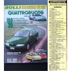Quattroruote 507 01/1998 Superdiablo, Ferrari F355, Porsche 911 Carrera