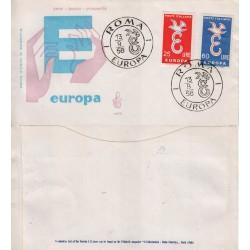 FDC Italia Venetia 1958 Unif. 838 Europa CEPT A/Speciale rif.2963 intestata