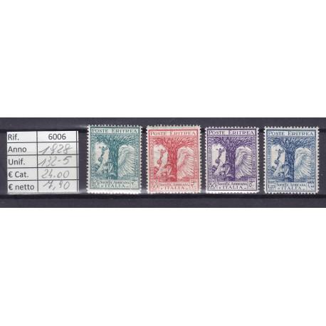 Italia Colonie - Eritrea 1928 Società Africana d'Italia 4v MNH**