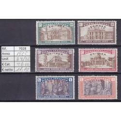 Italia Colonie - Eritrea 1925 Anno Santo 6v MNH**