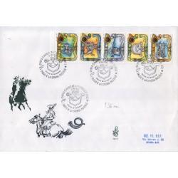 FDC Italia Venetia 1993 - 793it - I Tasso e la Storia Postale viaggiata