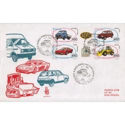 FDC Italia Venetia 1986 - 621bis-it - Costruzione Automobilistiche viag.