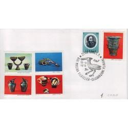FDC Erinnofilo Cariplo annullo speciale 15/9/1979 Como XIII Mostra Filatelica