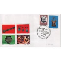 FDC Erinnofilo Cariplo annullo speciale 15/9/1979 Como XIII Mostra Filatelica 01