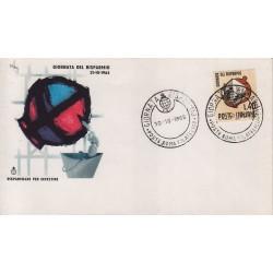 FDC Italia Cassa di Risparmio 30/10/1965 Giornata del Risparmio a/sp