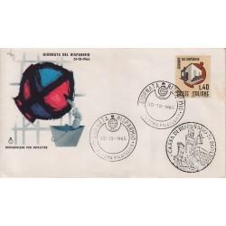 FDC Italia Cassa di Risparmio 30/10/1965 Giornata del Risparmio an/sp