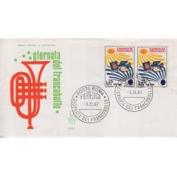 FDC Italia Venetia 1967 263-it - Giornata del francobollo