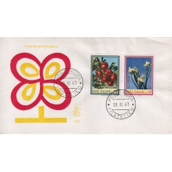FDC Italia Venetia 1967 258-it Flora Italiana