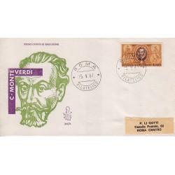 FDC Italia Venetia 1967 249-it Claudio Monteverdi viaggiata