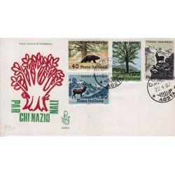 FDC Italia Venetia 1967 248-it Parchi nazionali annullo Cogne