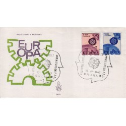 FDC Italia Venetia 1967 247-it Europa annullo speciale