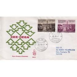 FDC Italia Venetia 1967 246-it Trattati di Roma