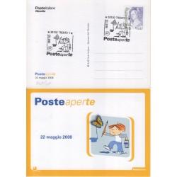 FDC annullo speciale 22/05/208 Posteaperte a/s Trento 648/08