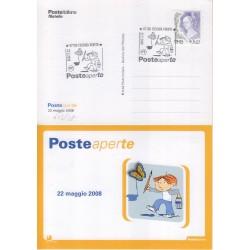 FDC annullo speciale 22/05/208 Posteaperte a/s Cosenza Veneto 603/08