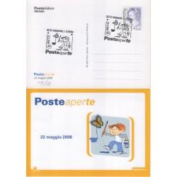FDC annullo speciale 22/05/208 Posteaperte a/s Pordenone S. Caterina 591/08