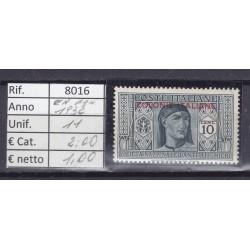 Italia Colonie - Emissioni Generali 1932 Garibaldi 10C MNH**