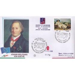 FDC ITALIA 1999 - Grolla 1178 unif. 2460 J. W. Ghoethe a/s