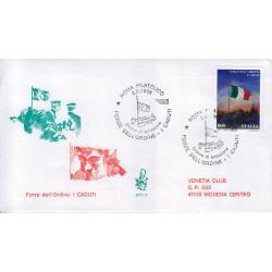 FDC ITALIA 1998 Venetia Unif. 2387 Forze dell'Ordine I Caduti viaggiata