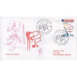 FDC ITALIA 1998 Venetia Unif. 2381 Fiera di Padova