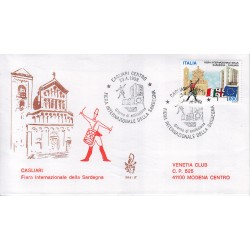 FDC ITALIA 1998 Venetia Unif. 2379 Fiera di Sardegna viaggiata