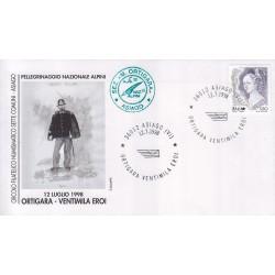 FDC annullo speciale 12/07/1998 Asiago Ortigara Ventimila Eroi