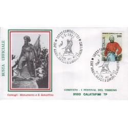 FDC annullo speciale 05/05/1985 - CAMOGLI GE 150° ANNIV. NASCITA SIMONE SCHIAFFINO 01