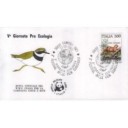FDC annullo speciale 17/10/1985 - CAMOGLI GE 2° FESTIVAL INT.LE FILM SUBACQUEO 1