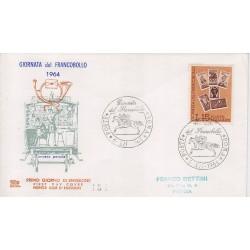 FDC ITALIA 1956 Chimera Unif. 989 Giornata del Francobollo