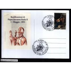 FDC ITALIA Marcofilia Annullo speciale n° 550 01/05/2011 ALGHERO