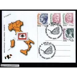 FDC ITALIA Marcofilia Annullo speciale n° 646 07/05/2011 BARI V.R.