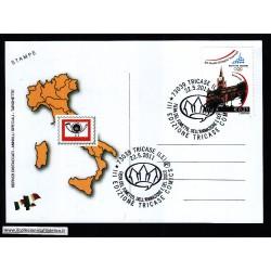FDC ITALIA Marcofilia Annullo speciale n° 804 22/05/2011 TRICASE (LE