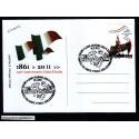 FDC ITALIA Marcofilia Annullo speciale n° 818 252/05/2011 SULMONA