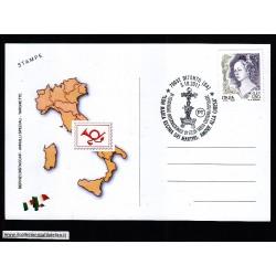 FDC ITALIA Marcofilia Annullo speciale n 1665 03/10/2011 70032 BITONTO