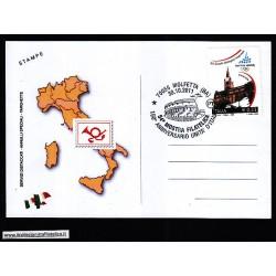 FDC ITALIA Marcofilia Annullo speciale n 1814 30/10/2011 MOLFETTA