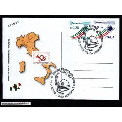 FDC ITALIA Marcofilia Annullo speciale n 15 20/01/2012 GENOVA CENTRO