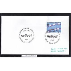 Annullo Speciale 24/04/1984 ROMA EUR - UNICEF - UNITEVI ALLA CAMPAGNA PER LA SOPRAVVIVENZA DEL BAMBINO