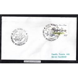 Annullo Speciale 23/06/1984 36100 VICENZA C.P. - TENNISTAVOLO CAMPIONATI INTERNAZIONALI GIOVANILI