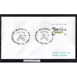 Annullo Speciale 02/06/1984 38017 MEZZOLOMBARDO (TN) - CONCORSO IPPICO NAZ. FORMULA 2